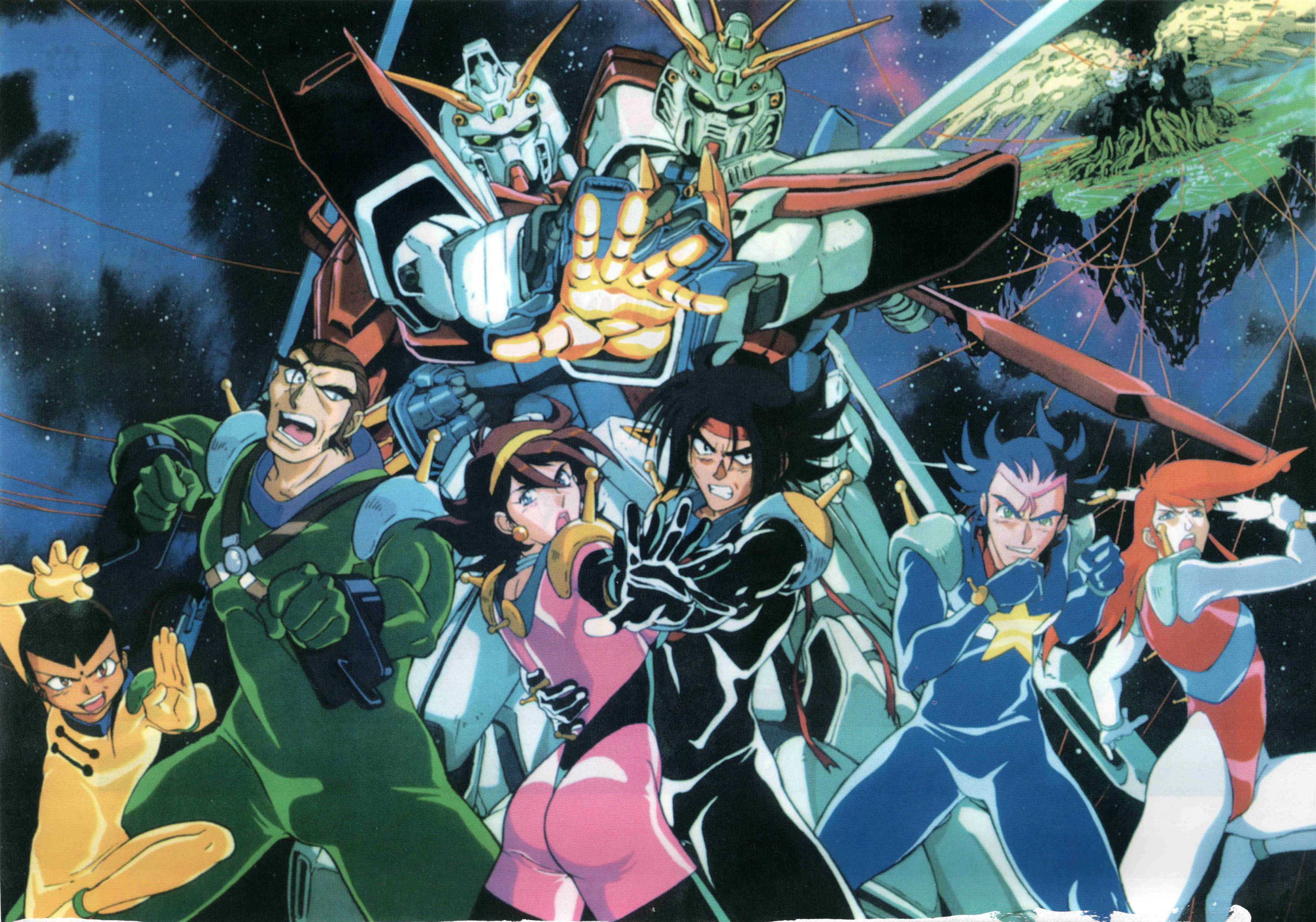 Aoy podcast 9 mobile fighter g gundam review gundam for Domon online