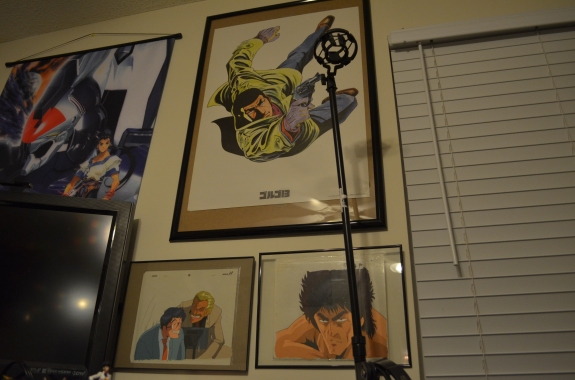 What proudly hangs above my computer right now...