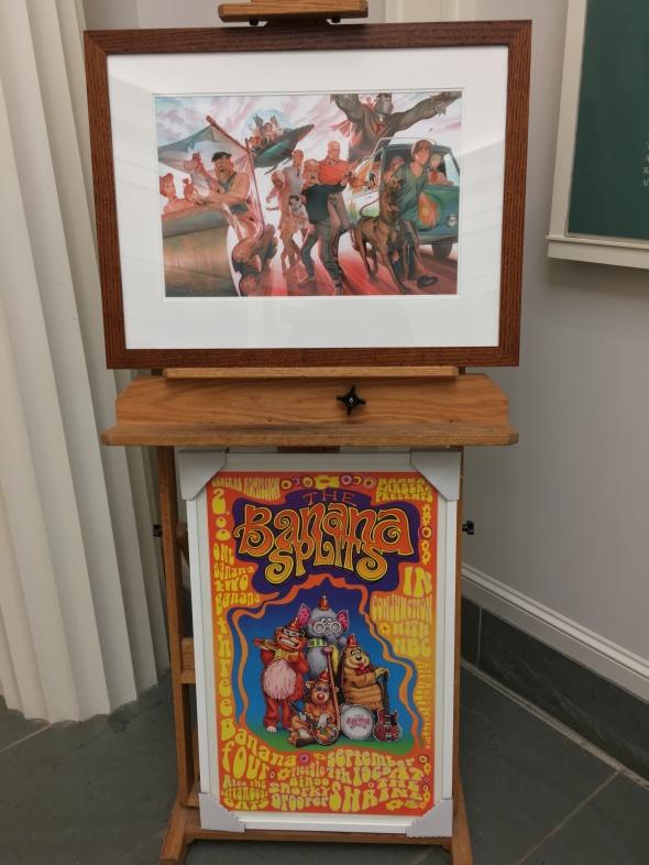 Daft at the Hanna Barbera exhibit