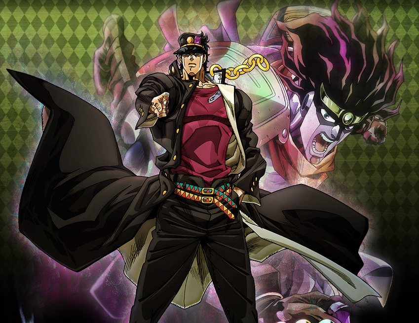 AoY Podcast 132 JoJo Bizarre Adventure Stardust Crusaders Review